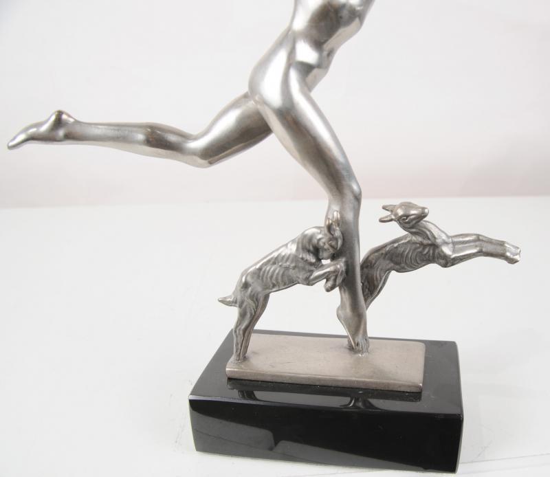 Photo of  French Bronze Art Deco Figurine Goat Dancer Statue