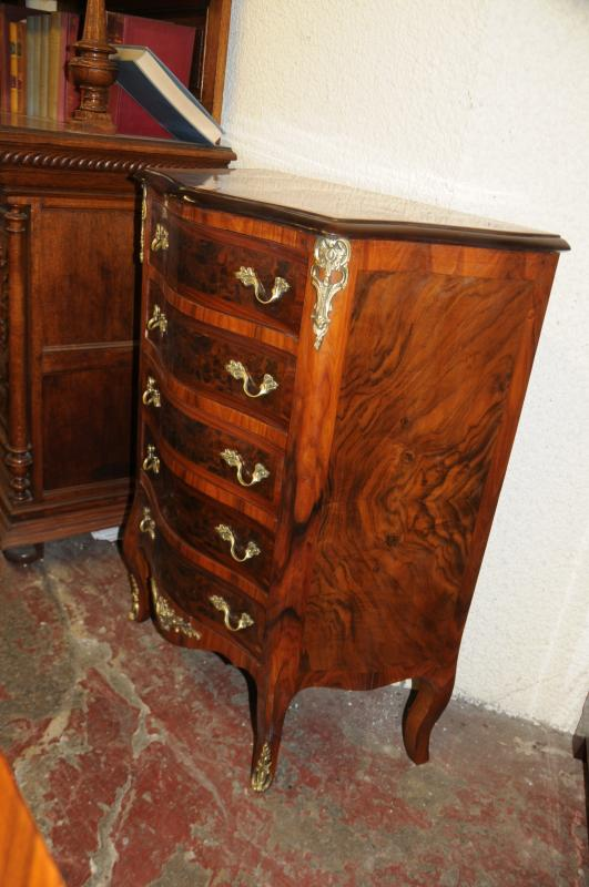 Photo of French Empire Chest Drawers Commode Walnut