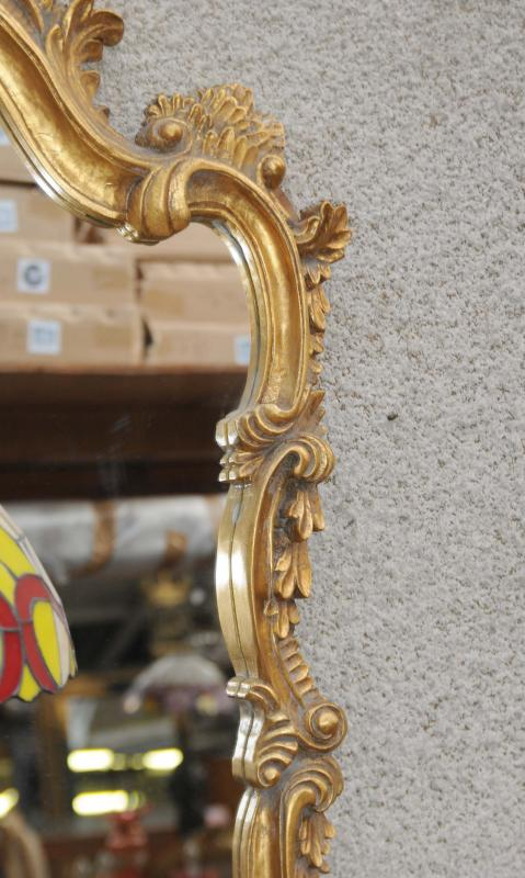 Photo of French Rococo Gilt Console Table Mirror Set Hand Carved