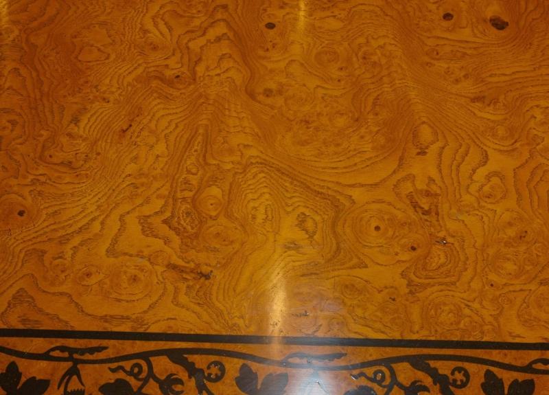 Photo of George Bullock Regency Dining Table Walnut Inlay