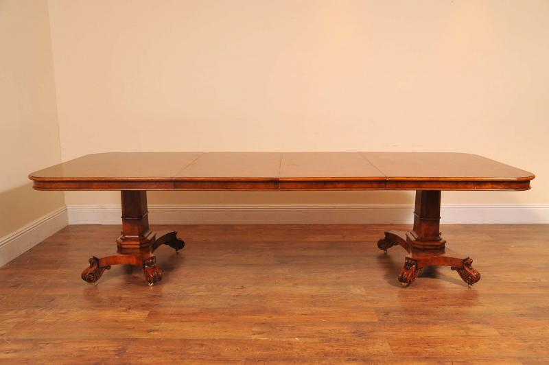 Photo of George II Walnut Dining Table & 10 Chippendale Chair Set