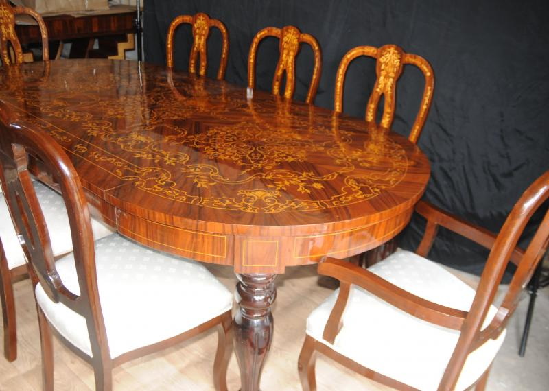 Italian Marquetry Dining Table Tables Diners Furniture eBay : italian marquetry dining table tables diners furniture 1349926453 zoom 23 from ebay.co.uk size 800 x 570 jpeg 65kB