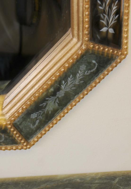 Photo of Italian Venetian Glass Pier Mirror Mirrors