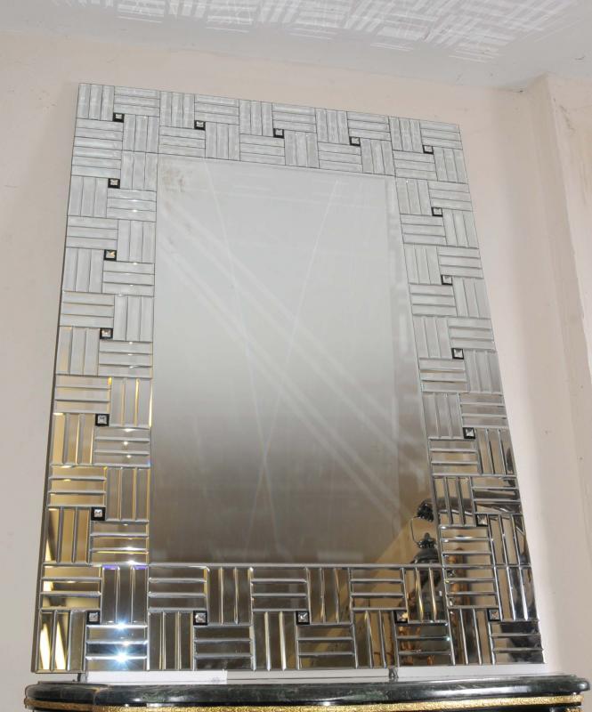 Photo of Large Art Deco Glass Pier Mirror Mirrors Interior Design