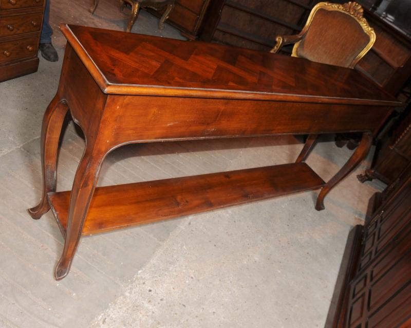 Photo of Mahogany Victorian Sideboard Buffet Server Cabinet Hand Carved