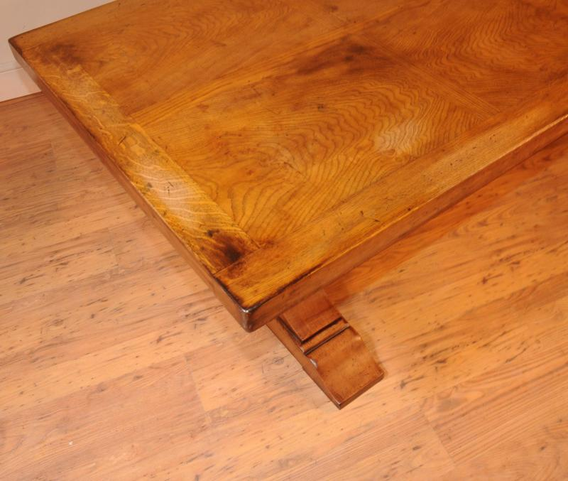 Photo of Oak Kitchen Diner Chair Set Refectory Table and Spindleback Chairs