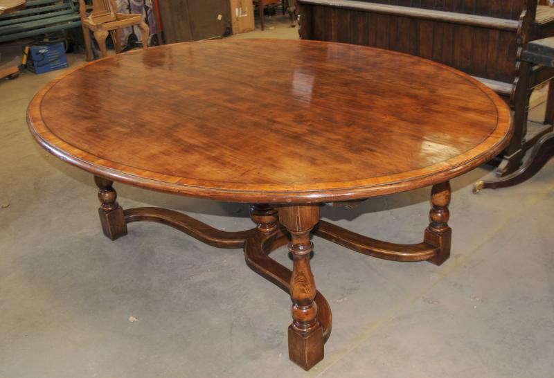 Oak Kitchen Table Oak Oval Top Refectory Dining EBay