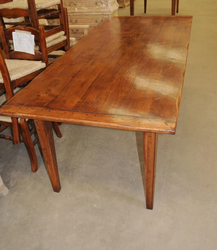 oak refectory table kitchen dining tables