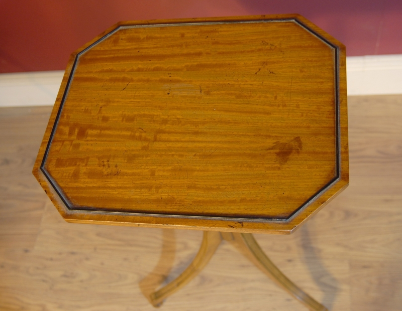 Photo of Pair Biedermeier Walnut Side Tables Occassional Table