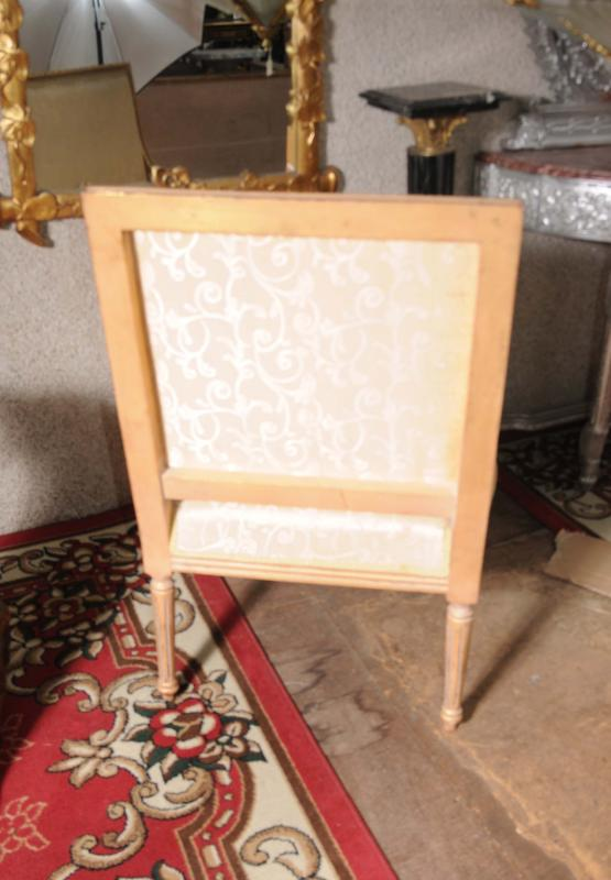 Photo of Pair French Regency Gilt Armchairs Chairs Fauteils Interior Design