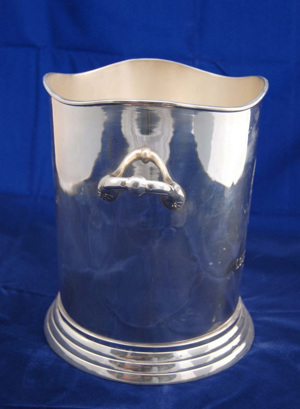 Photo of Pair Louis Roederer Silverplate Champagne Buckets
