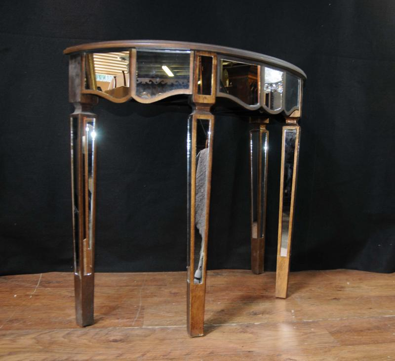 Photo of Pair Mirror Console Tables Mirrored Hall Tables Deco Furniture