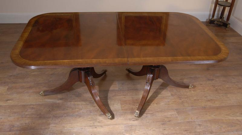 Photo of Regency Dining Table & Set George II Chairs Suite