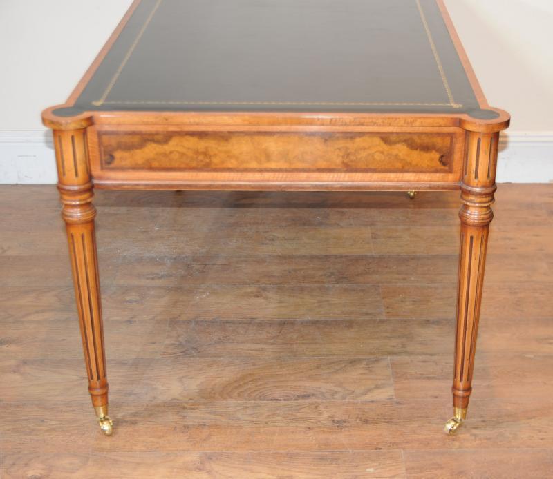 Photo of Regency Walnut Desk Writing Table Bureau Gillows