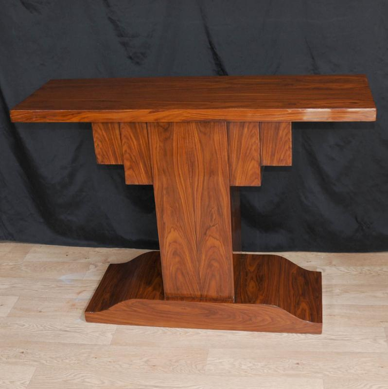 Rosewood art deco modernist console table 1920s furniture for Art deco furniture