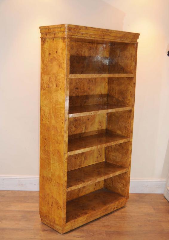 Photo of Single Art Deco Open Bookcase Bookcases Shelf