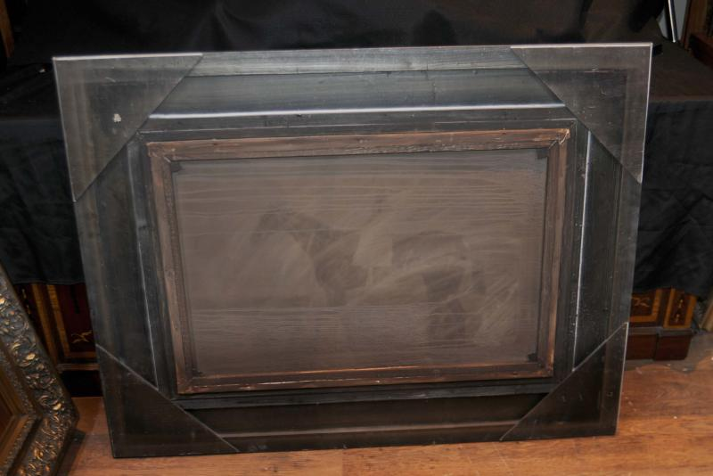 Photo of Victorian Oil Painting Horse & Jockey Huntsman English Country Side