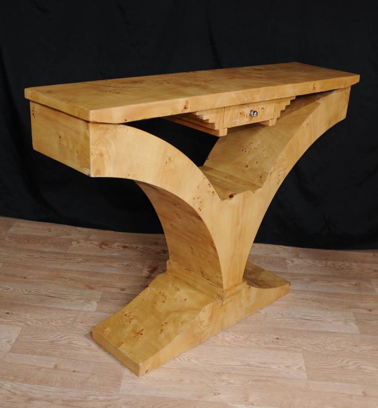 Photo of Walnut Art Deco Console Table 1920s Furniture Interior Design