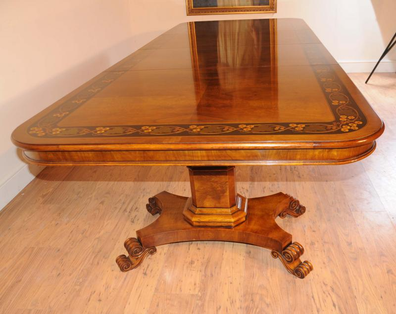 Dining Table Dining Table 10 Feet : walnut inlay regency pedestal dining table 10 feet 1330917420 zoom 2 from choicediningtable.blogspot.com size 800 x 636 jpeg 58kB