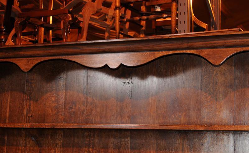 Photo of XL Oak Farmhouse Welsh Dresser Kitchen Server Cabinet Cupboard