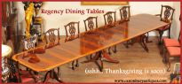 Dining sets delivered in time for Thanksgiving (and Christmas)