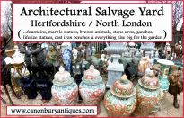 London Architectural Salvage Yard From Canonbury Antiques